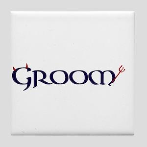 The Groom Tile Coaster