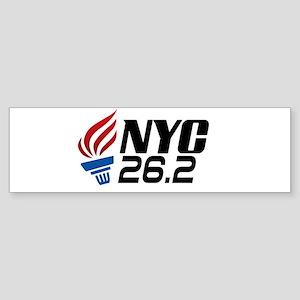 NYC Marathon Bumper Sticker