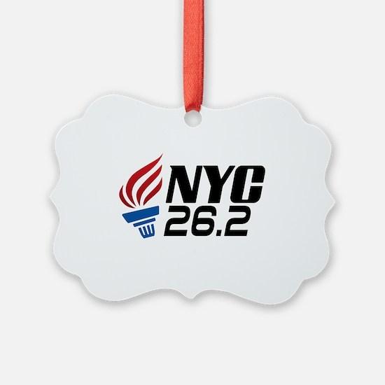 NYC Marathon Ornament