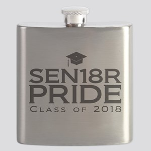 Senior Pride - Class of 2018 Flask