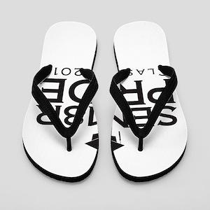 Senior Pride - Class of 2018 Flip Flops