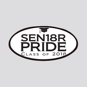 Senior Pride - Class of 2018 Patch