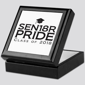 Senior Pride - Class of 2018 Keepsake Box