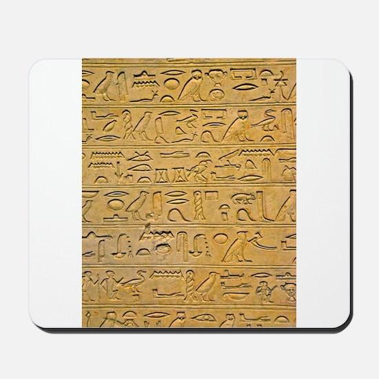 Hieroglyphics Count! Mousepad