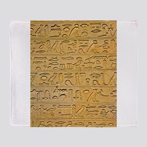 Hieroglyphics Count! Throw Blanket