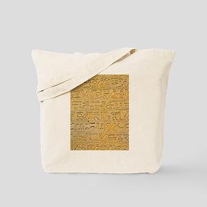 Hieroglyphics Count! Tote Bag