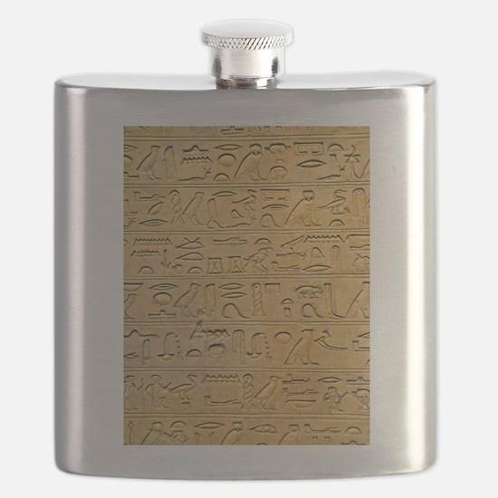 Hieroglyphics Count! Flask
