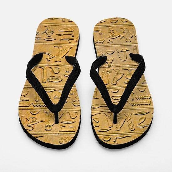 Hieroglyphics Count! Flip Flops