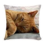 Cat Burlap Pillows