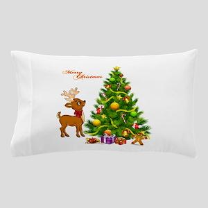 Shinny Christmas Pillow Case