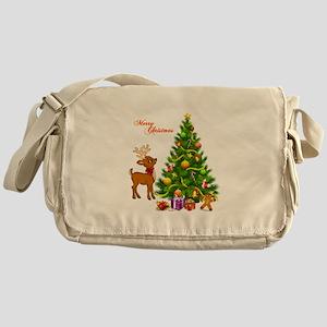 Shinny Christmas Messenger Bag