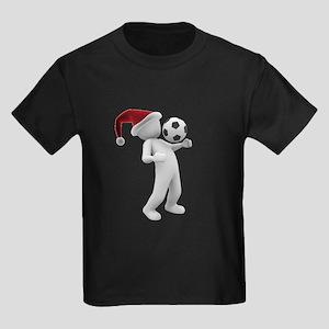 soccer santa christmas T-Shirt