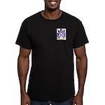 McLeur Men's Fitted T-Shirt (dark)
