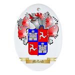 McLeod Oval Ornament