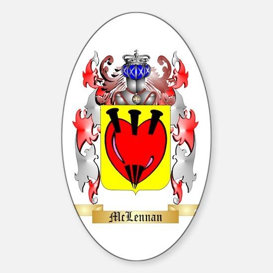 McLennan Sticker (Oval)