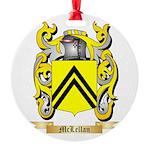 McLellan Round Ornament