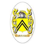 McLellan Sticker (Oval 50 pk)