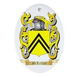 McLellan Oval Ornament