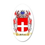 McLees 35x21 Oval Wall Decal