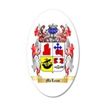 McLean 20x12 Oval Wall Decal