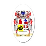 McLean 35x21 Oval Wall Decal