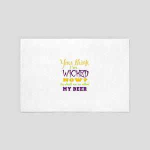 beer humor 4' x 6' Rug