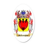 McLanaghan Oval Car Magnet