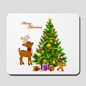 Shinny Christmas Mousepad
