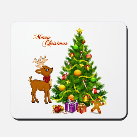 Shinny Christmas Mousepad
