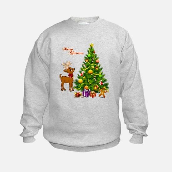 Shinny Christmas Sweatshirt