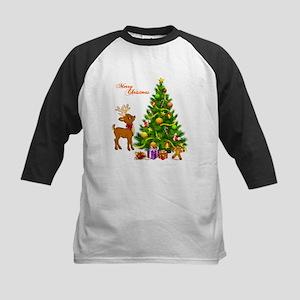 Shinny Christmas Baseball Jersey