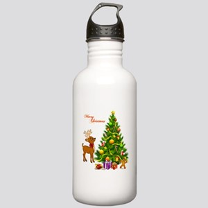 Shinny Christmas Stainless Water Bottle 1.0L