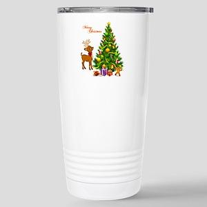 Shinny Christmas Stainless Steel Travel Mug