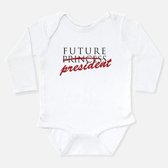 Unique Future feminist baby Long Sleeve Infant Bodysuit
