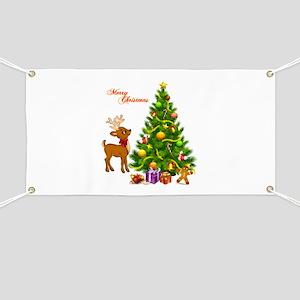 Shinny Christmas Banner