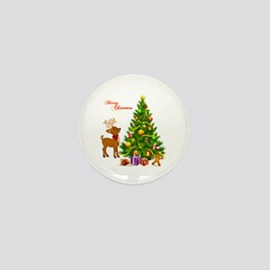 Shinny Christmas Mini Button