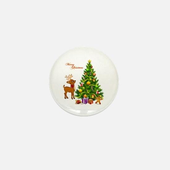 Shinny Christmas Mini Button