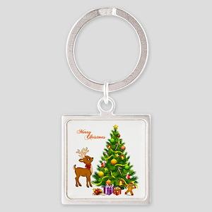 Shinny Christmas Keychains