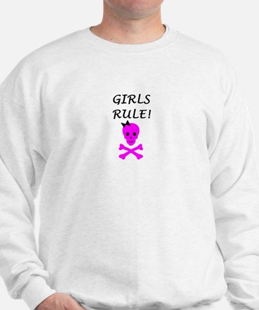 GIRLS RULE Sweatshirt