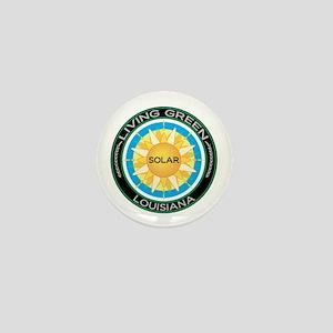 Living Green Louisiana Solar Energy Mini Button