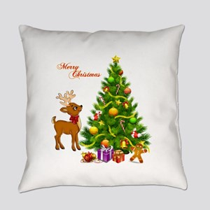 Shinny Christmas Everyday Pillow