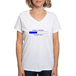 BURP LOADING... Women's V-Neck T-Shirt