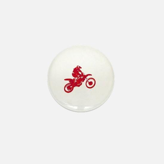 Cute Dirt bike Mini Button