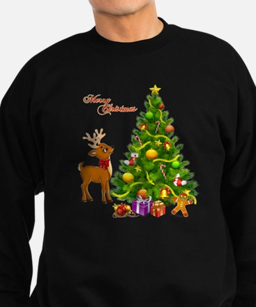 Shinny Christmas Sweatshirt (dark)