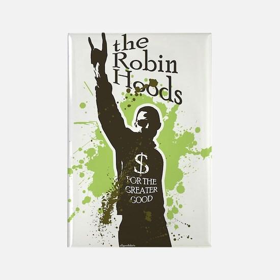 Robin Hoods Rectangle Magnet