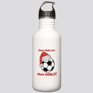 XmasWishList Water Bottle