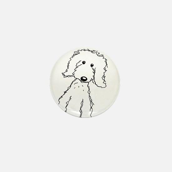 Cute Doodle Mini Button