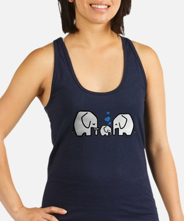 Elephants Racerback Tank Top