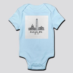 Washington dc baby clothes accessories cafepress baby body suit negle Images