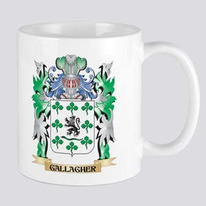 Gallagher Coat of Arms (Family Crest) Mugs